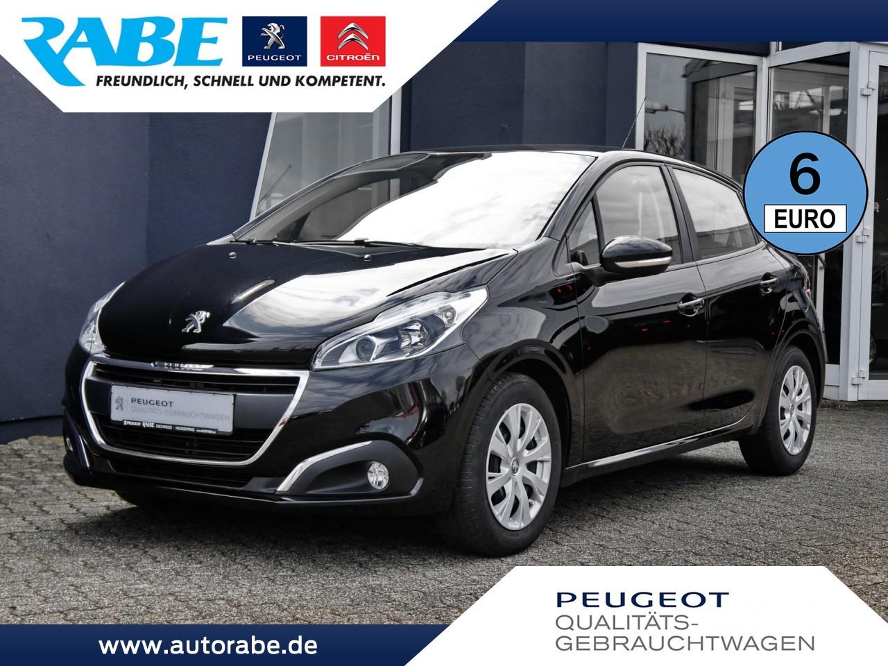 Peugeot 208 Flatrate 82 PT ParkPilot+Sitzhzg.+NebelSW, Jahr 2017, Benzin