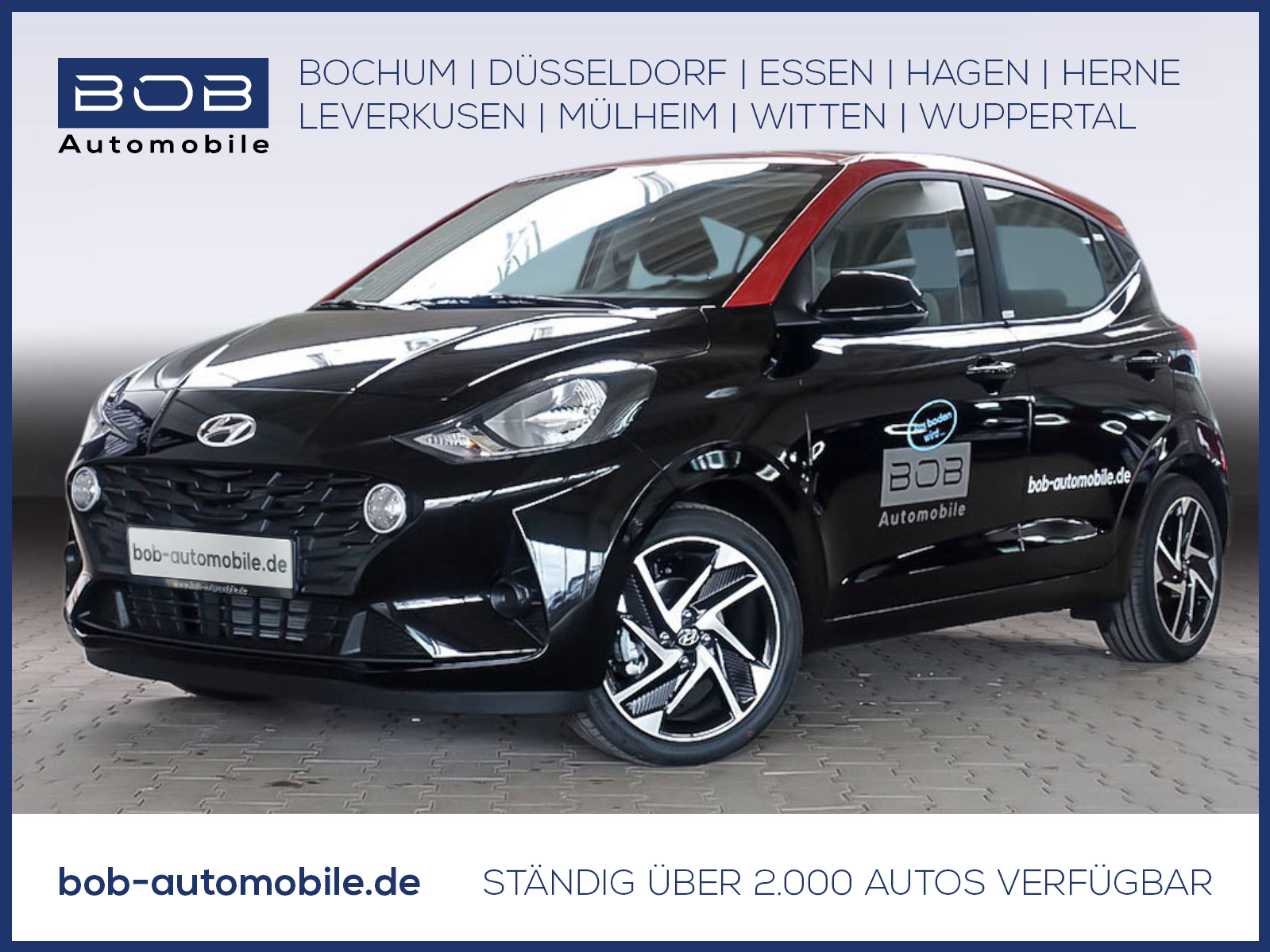 "Hyundai i10 1.2 Benzin Trend Komfort-P Navi-P 16""Alu, Jahr 2020, petrol"
