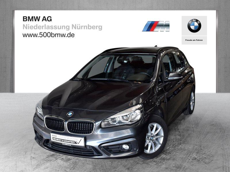 BMW 218d Active Tourer EURO6 Advantage LED Navi abbl. Spiegel, Jahr 2017, Diesel