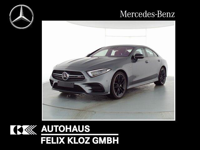 Mercedes-Benz CLS 53 AMG 4M+ FAP Multikontur Leder Rot Burme, Jahr 2020, Benzin