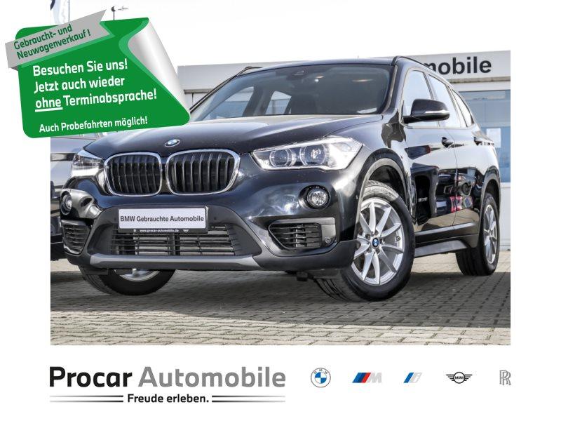 BMW X1 sDrive18i Advantage LED Navi Tempomat Shz, Jahr 2018, Benzin