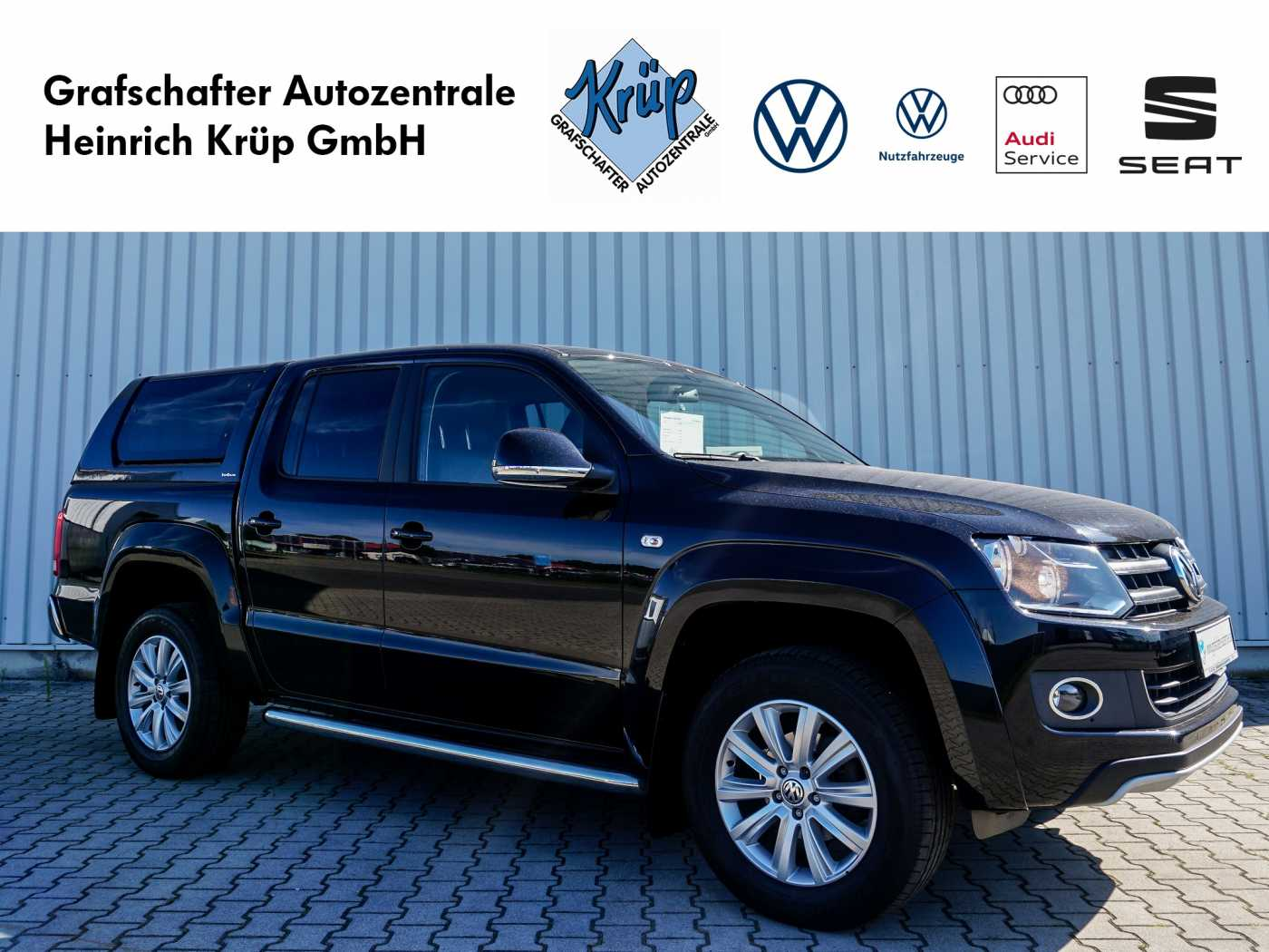 Volkswagen Amarok 2.0 BiTDI 4MOTION Autm. Highline*Hardtop*Leder*, Jahr 2014, Diesel