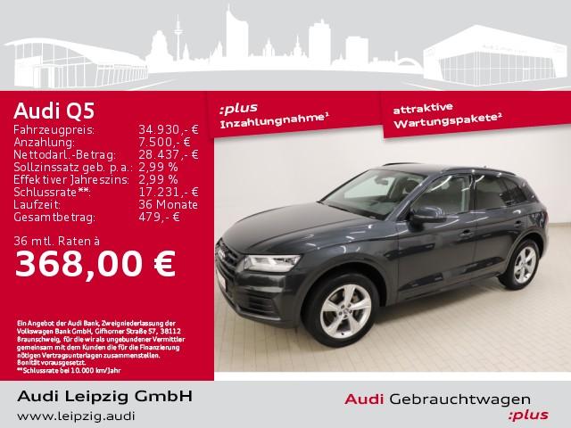 Audi Q5 2.0 TDI sport quattro *Matrix*S tronic*SHZ*, Jahr 2018, Diesel
