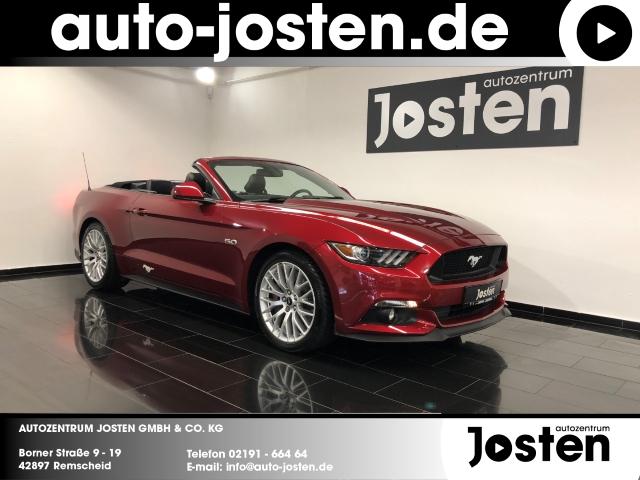 Ford Mustang Convertible 5.0 Autom. PremiumPaket, Jahr 2017, Benzin
