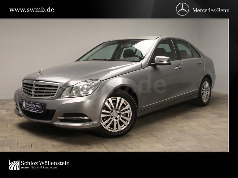 Mercedes-Benz C 180 Elegance 7G-Tronic/Navi/PDC/Sitzhzg/LMR, Jahr 2013, Benzin