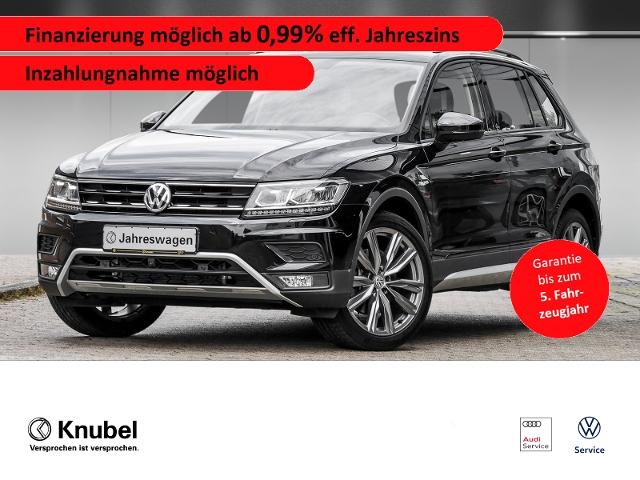 Volkswagen Tiguan Offroad 2.0 TSI 4Motion DSG*20Zoll*Nav*AH, Jahr 2020, Benzin