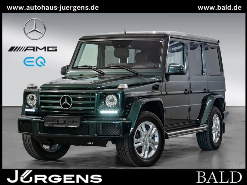 Mercedes-Benz G 500 Comand/AHK/Cam/Leder/Standheizung/SHZ, Jahr 2018, Benzin