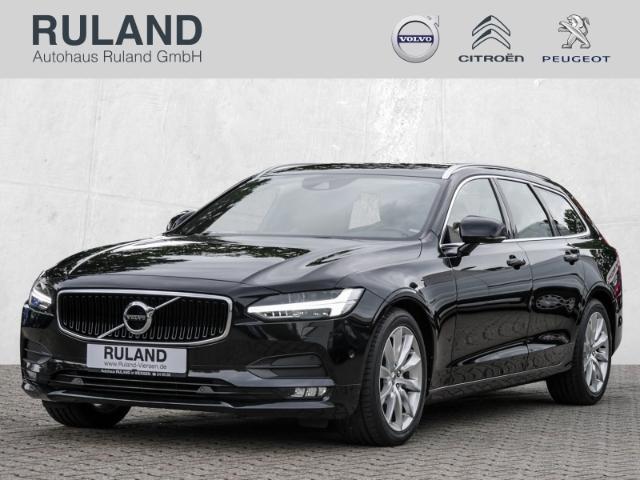 Volvo V90 Kombi Momentum AWD D5 LED Navi StandHZG Head-Up Kurvenlicht e-Sitze HUD ACC, Jahr 2017, Diesel