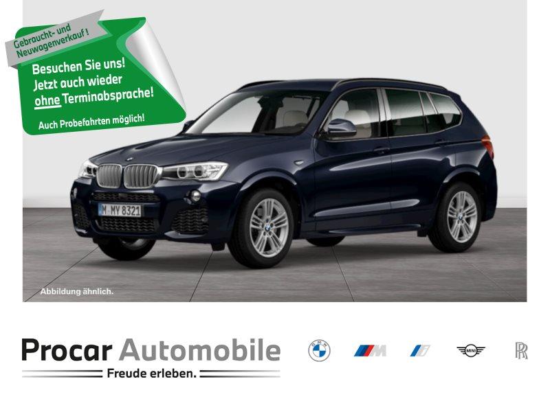 BMW X3 xDrive30d M Sport HuD 360° AHK Xenon RFK 1,95% Fin., Jahr 2016, Diesel
