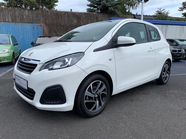 Peugeot 108 1.2 VTi Active (EURO 6), DAB, Shzg., Klima, Jahr 2017, Benzin