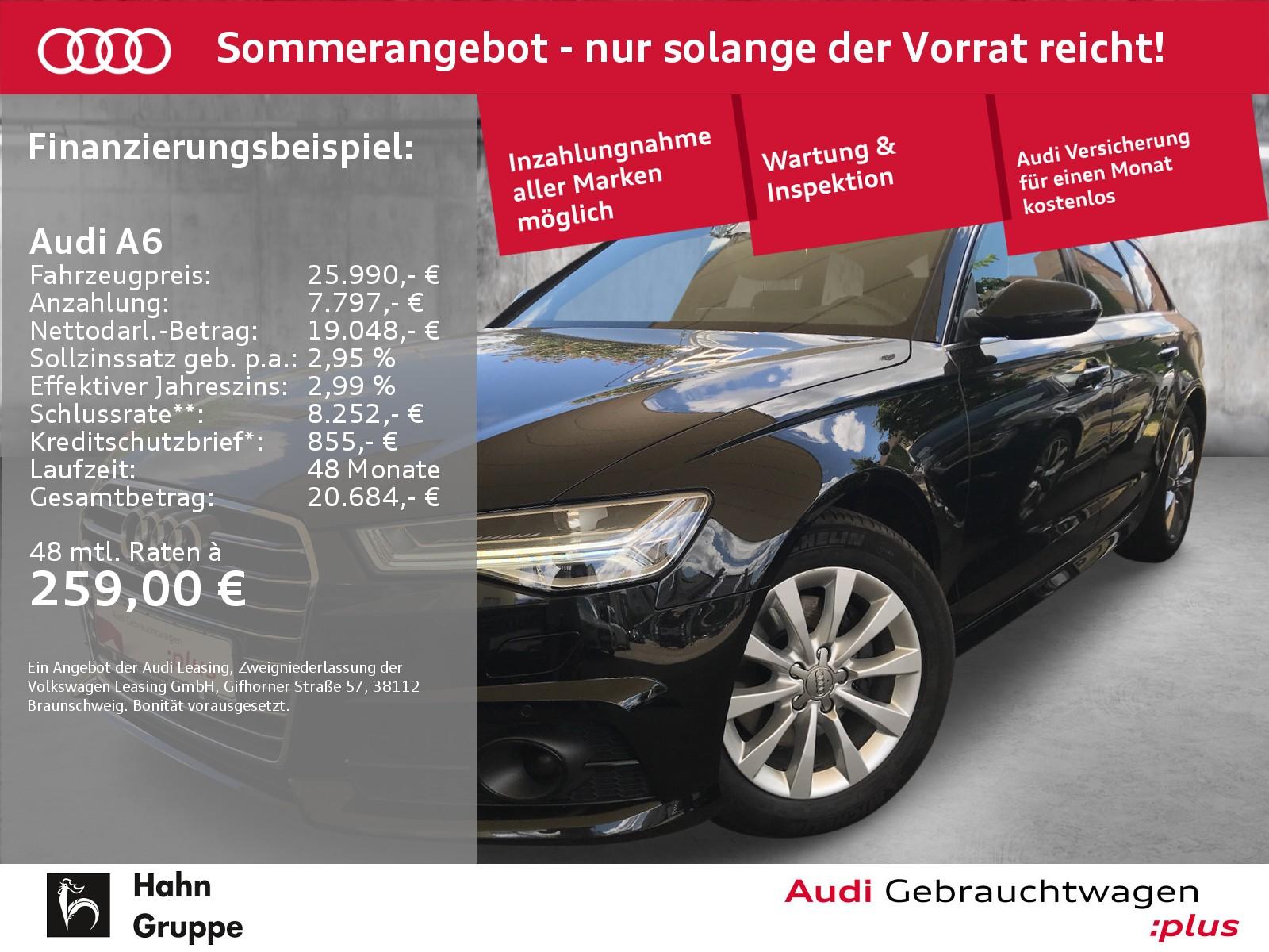 Audi A6 Avant 1.8TFSI ultra S-Trc Matrix Navi Standh, Jahr 2018, Benzin