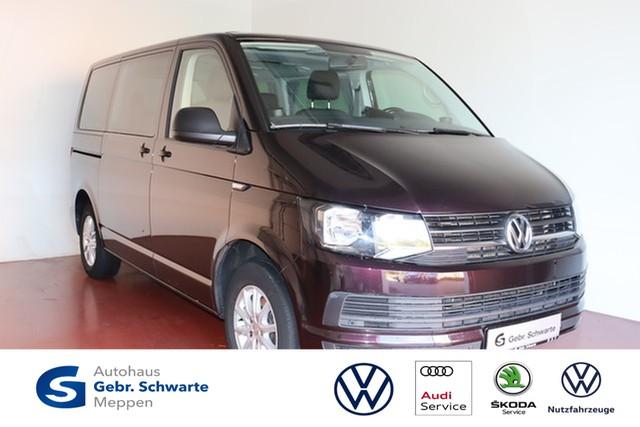 Volkswagen T6 Multivan 2.0 TDI Trendline AHK+SHZ+PDC, Jahr 2015, Diesel