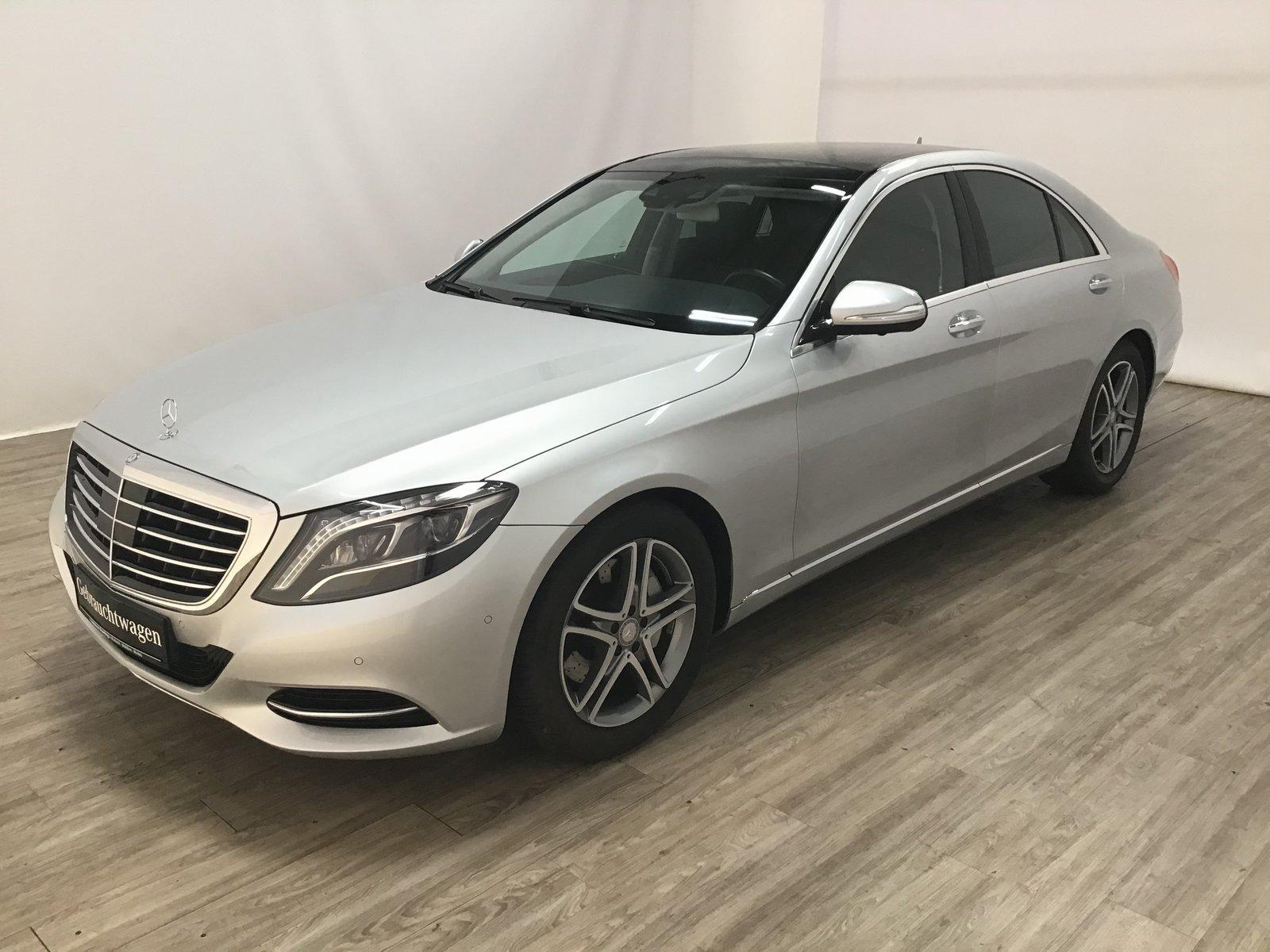 Mercedes-Benz S 350 BT 4M Distronic*Pano*Sitzklima*ILS*COMAND*, Jahr 2014, Diesel