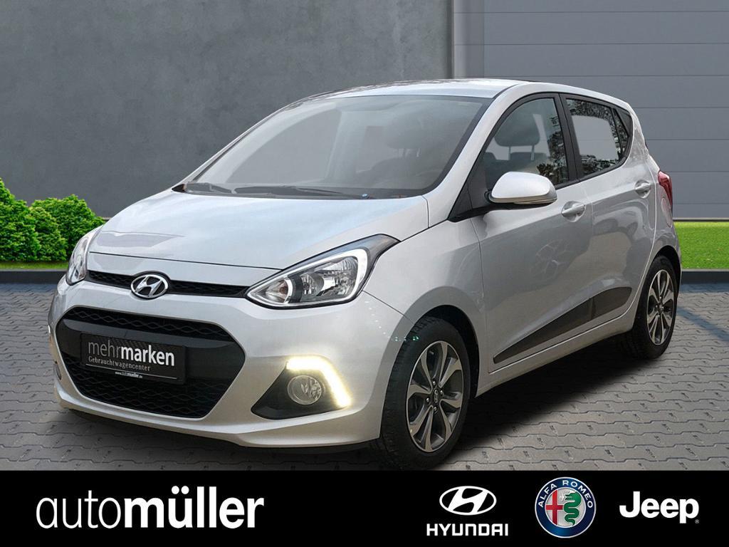 Hyundai i10 1.2 FIFA World Cup*Sitzheizung*Bluetooth*, Jahr 2014, petrol