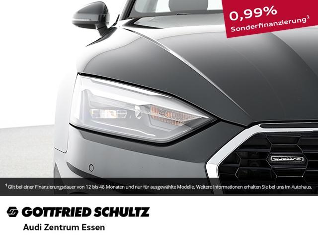 Audi A5 Coupe 40 TDI quattro advancedS-TRONIC LED PLUS RÜFAHR SHZ PDC VO HI FSE MUFU, Jahr 2020, Diesel