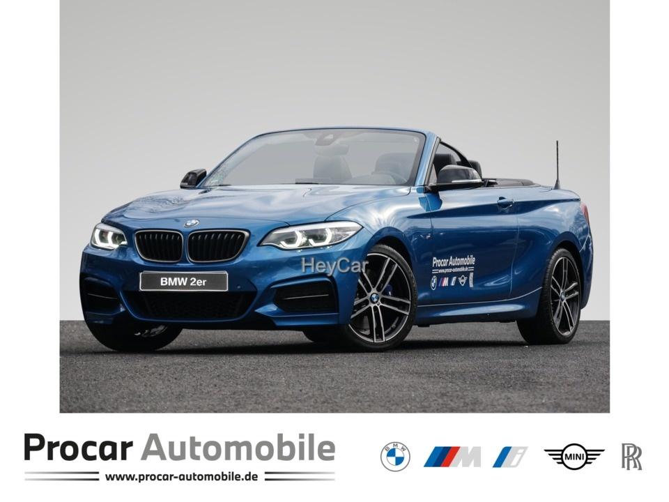BMW M240i xDrive Steptronic Cabrio Navi Prof. PDC, Jahr 2021, Benzin