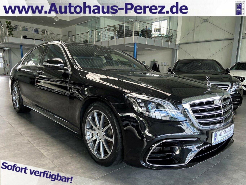 Mercedes-Benz S 63 AMG 4M L FOND ENTERTAIN-MASSAGE-CARBON, Jahr 2017, Benzin
