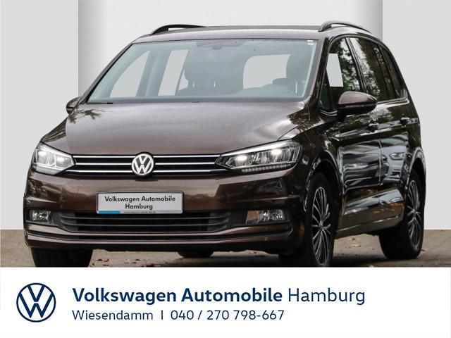 Volkswagen Touran 1.4 TSI DSG Comfortline AHK anklappbar LED Navi 7-Sitze LM Klimaautomatik, Jahr 2016, Benzin