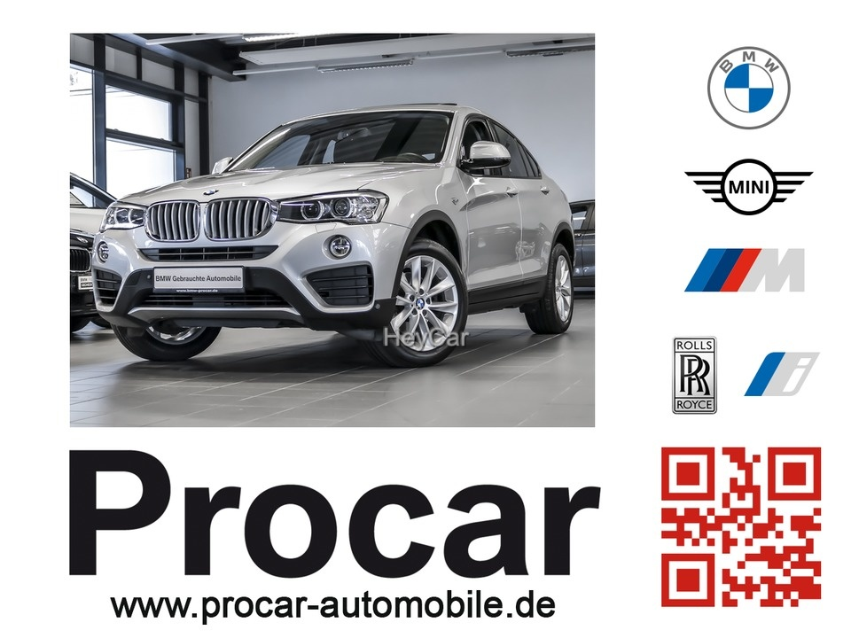 BMW X4 xDrive35d AT Sport Aut. Navi Business 18''LM, Jahr 2014, Diesel