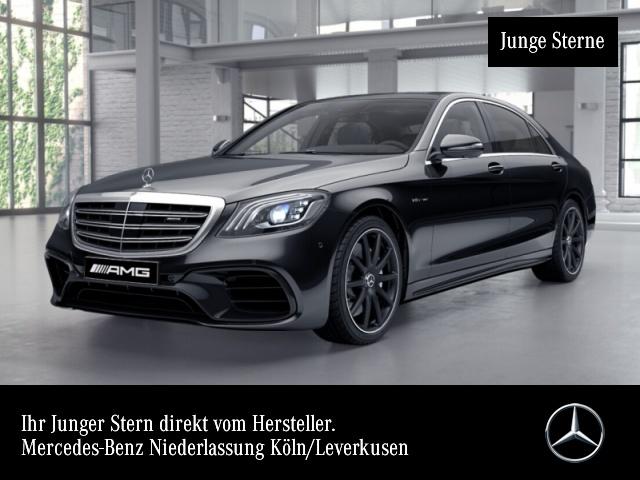 "Mercedes-Benz S 63 AMG 4M+ Lang Pano DriversPack Night 20"" 23P, Jahr 2017, petrol"
