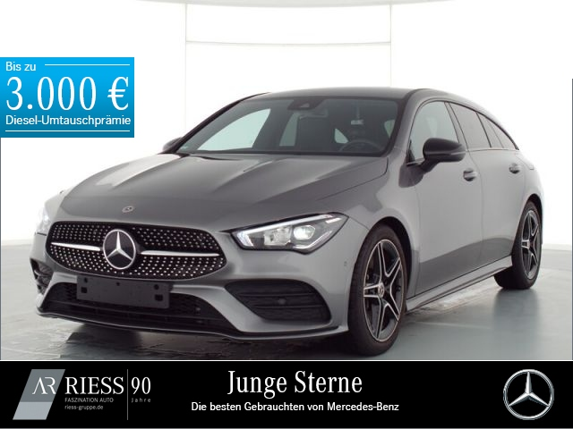 Mercedes-Benz CLA 250 Shooting Brake AMG+Night+LED+Kamera+PDC, Jahr 2019, Benzin