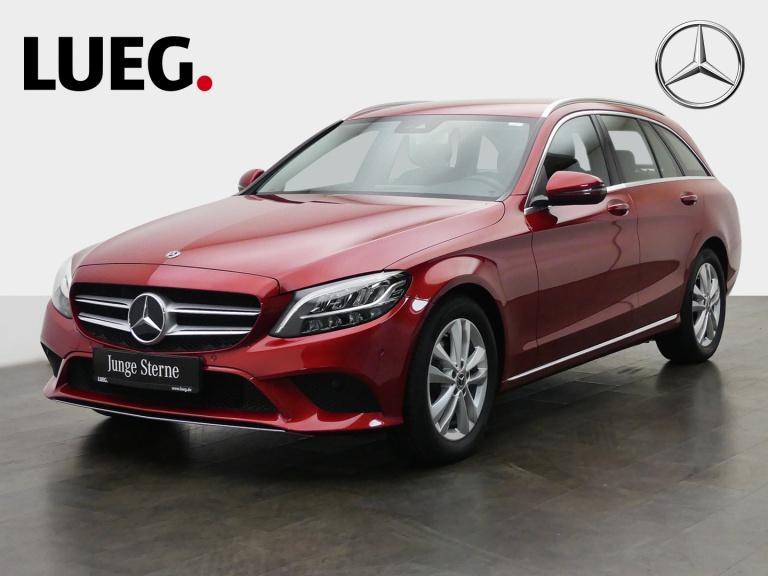 Mercedes-Benz C 180 T Avantgarde+Navi+LED-HP+AHK+CarPl+Kamera+, Jahr 2019, Benzin
