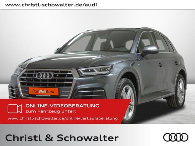 Audi Q5 S line sport 2.0 TFSI quattro S tronic Stdhzg., Jahr 2018, Benzin