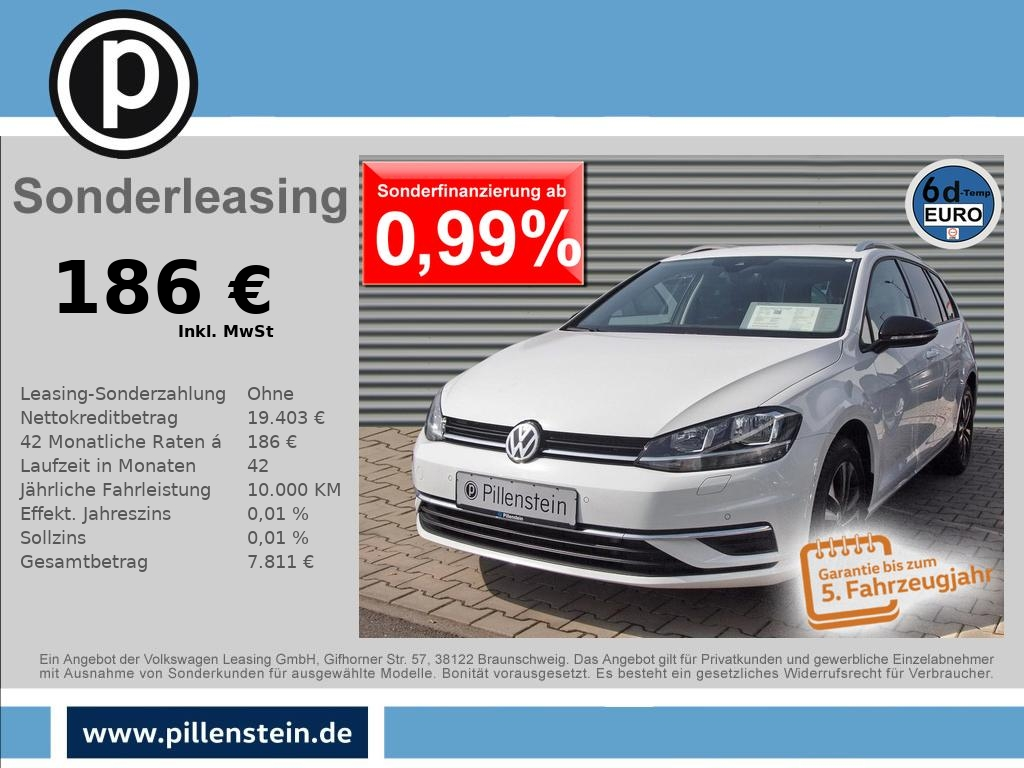 Volkswagen Golf 1.6 TDI IQ.DRIVE ACC Park-ASSIST NAVI, Jahr 2020, Diesel