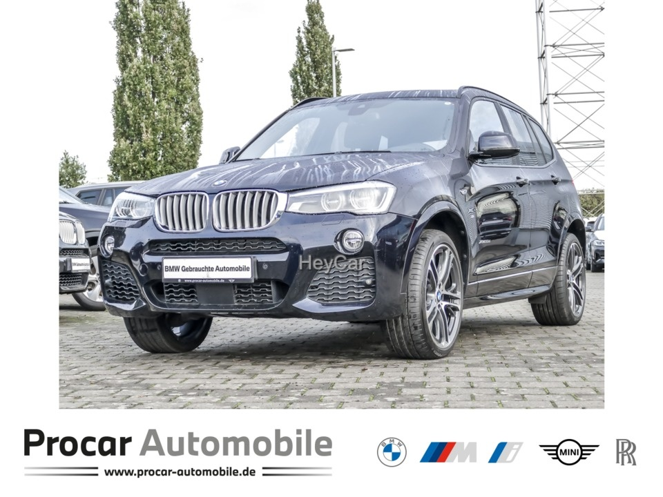 BMW X3 xDrive35d M Sport Head-Up LED H/K AHK Pano, Jahr 2017, Diesel