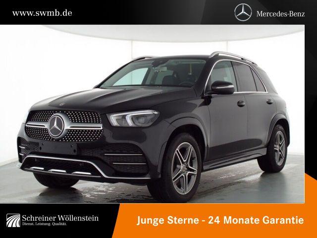Mercedes-Benz GLE 300 d 4M AMG Ext+Int*AHK*Burmester*RKam*TWA*, Jahr 2020, Diesel