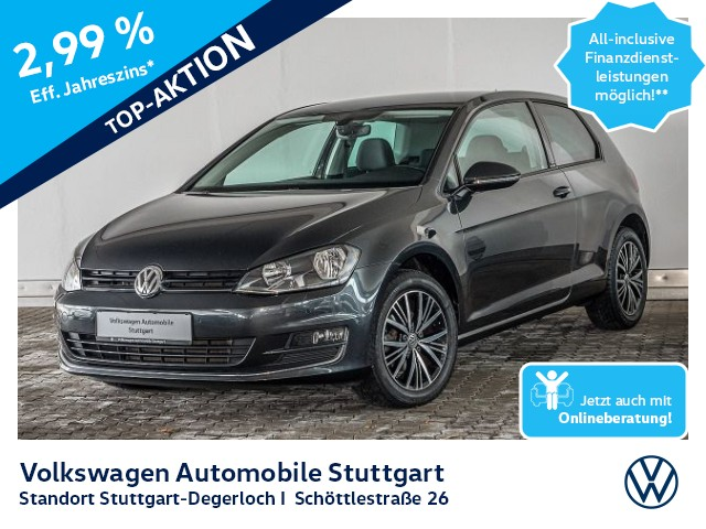 Volkswagen Golf VII 1.2 TSI Allstar Navi Tempomat, Jahr 2016, Benzin