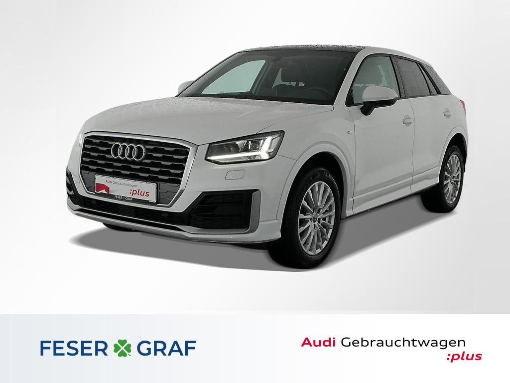 Audi Q2 1.4TFSI S Line Ext Pano,Leder,Navivorbereitg., Jahr 2018, Benzin