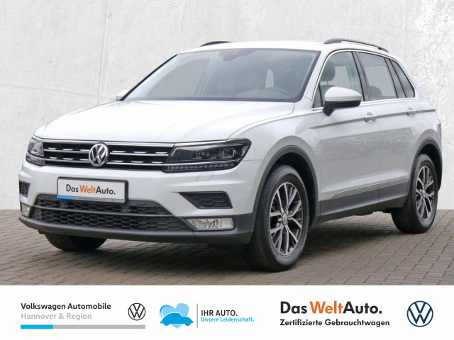 Volkswagen Tiguan 1.4 TSI Comfortline LED Klima PDC FrontAssist, Jahr 2017, Benzin