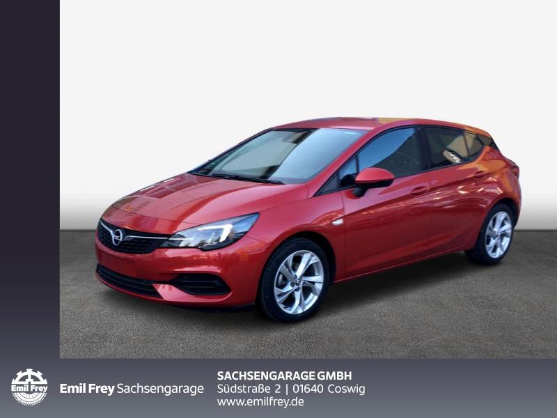 Opel Astra 1.2 Turbo GS Line Ergo-Paket Sitzhzg. v, Jahr 2019, Benzin