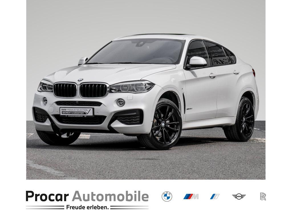 BMW X6 xDrive30d M-SPRT+GLASDACH+CARPLAY+WLAN+HUD+HIFI+NAVI PROF., Jahr 2019, Diesel