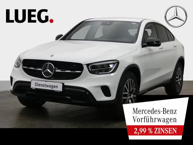 Mercedes-Benz GLC 220 d 4M Coupé NIGHT+EXCLUSIVE-INT+AHK+TOTW., Jahr 2021, Diesel