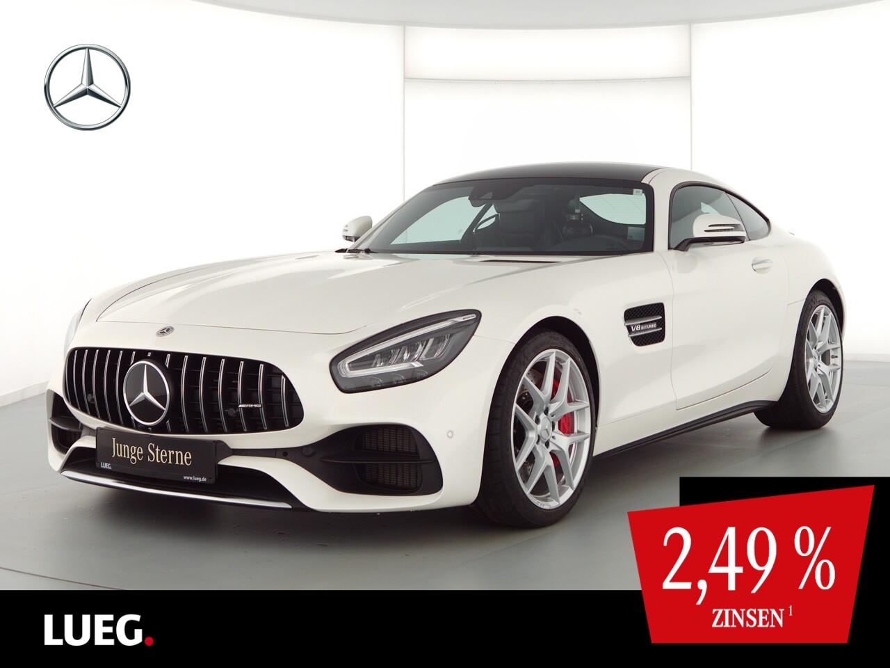Mercedes-Benz AMG GT COM+Pano+Burm+LED+19+KeyG+Distr+AbGas+Mem, Jahr 2020, Benzin