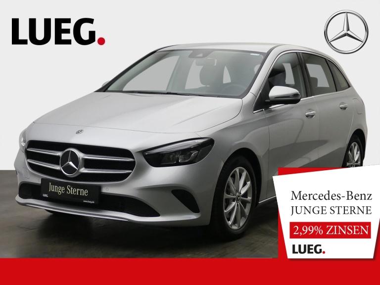 Mercedes-Benz B 200 d Progressive+MBUX+NavPrem+LED+AHK+ParkAss, Jahr 2019, Diesel