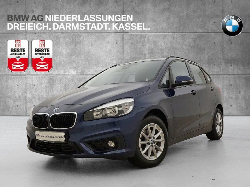 BMW 216d Active Tourer Advantage abbl. Spiegel Shz, Jahr 2016, Diesel