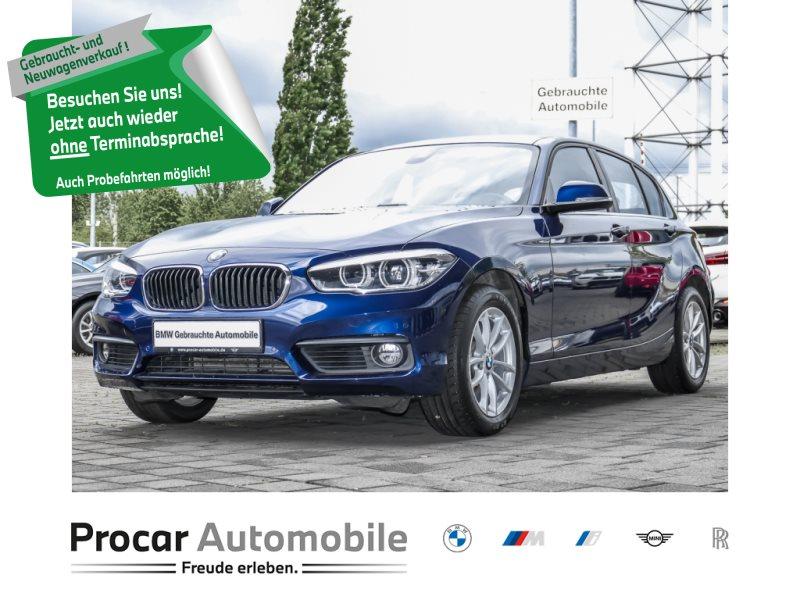 BMW 118d 5-Türer Navi LED PDC Shz Driving Assistant, Jahr 2018, Diesel