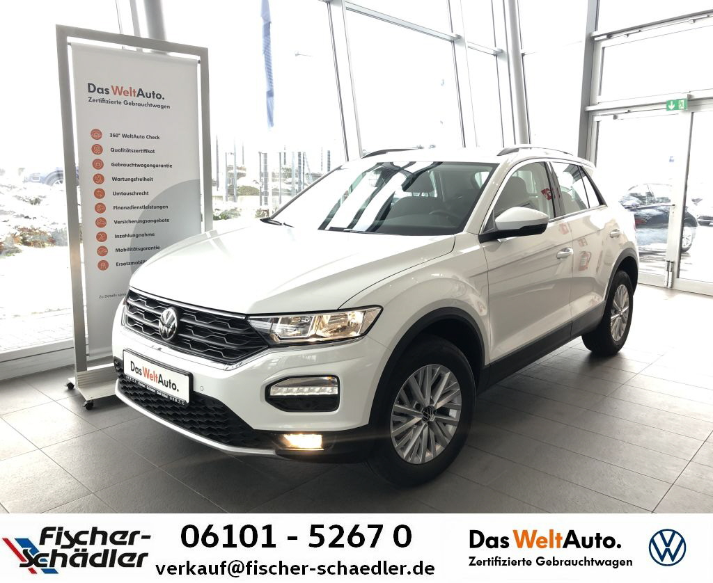 Volkswagen T-ROC Style 1.0TSI*ACC*Ready2Discover*RearView*A, Jahr 2020, Benzin