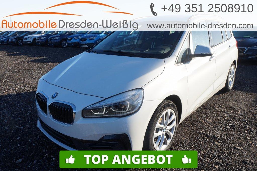BMW 216 Gran Tourer i Sport Line*Navi*UPE 39.930€*, Jahr 2018, Benzin