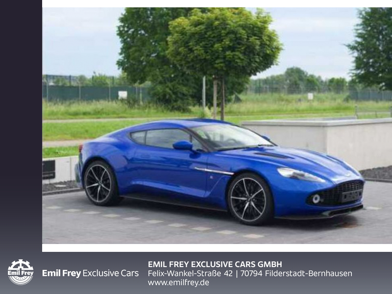Aston Martin Vanquish Zagato Coupe (1 of 99), Jahr 2017, Benzin