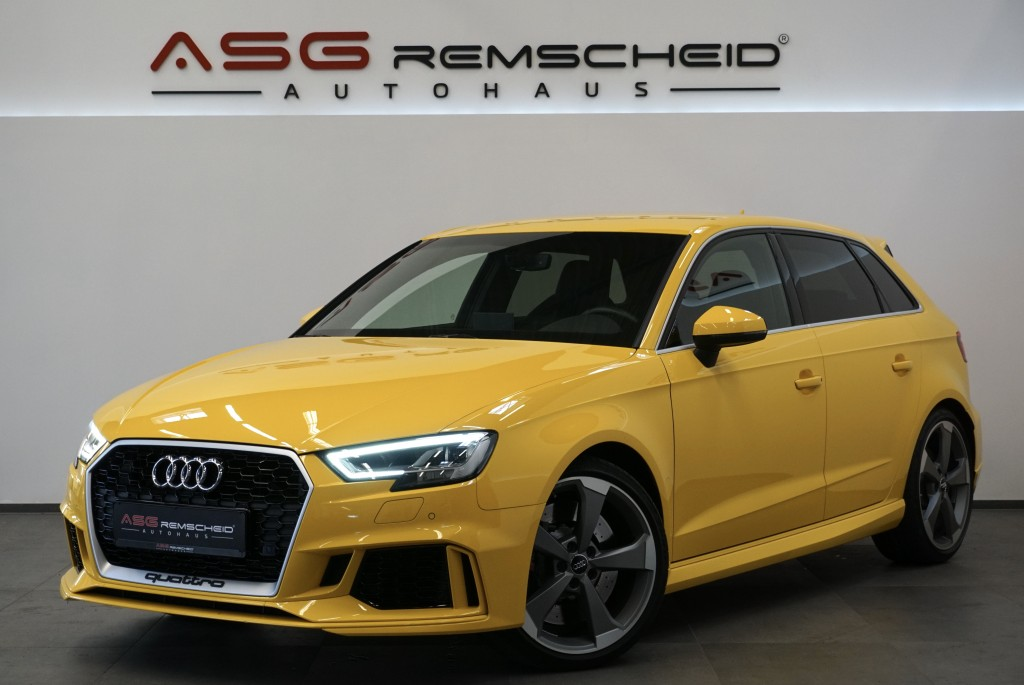 Audi RS3 Sportback q. *Individual *Schale *B&O *1.HD, Jahr 2018, Benzin