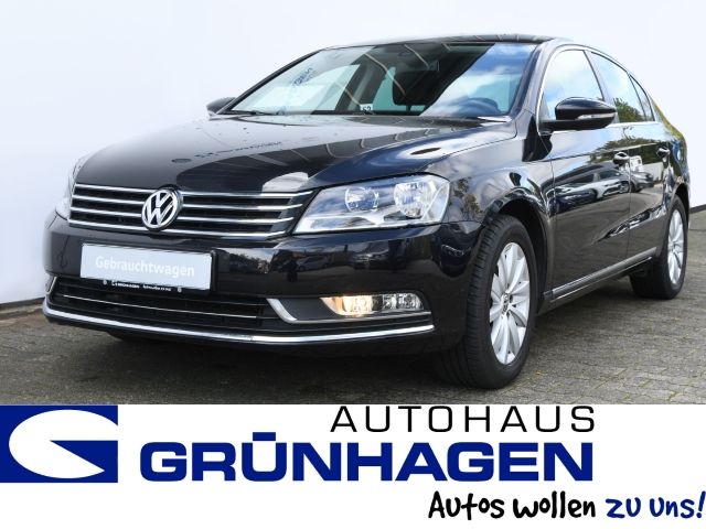 Volkswagen Passat 1.4 TSI Klima AHK Shz Navi Comfortline, Jahr 2014, Benzin