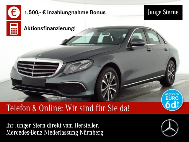 Mercedes-Benz E 200 d Exclusive Multi.SpiegelP.Totwinkel-Ass., Jahr 2019, Diesel