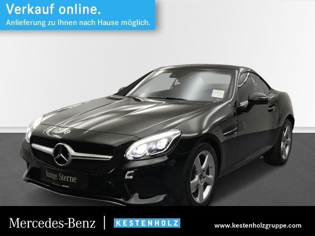 Mercedes-Benz SLC 300 PANO+COMAND+LED-ILS+AIRSCARF+PTS+MEMORY, Jahr 2019, Benzin
