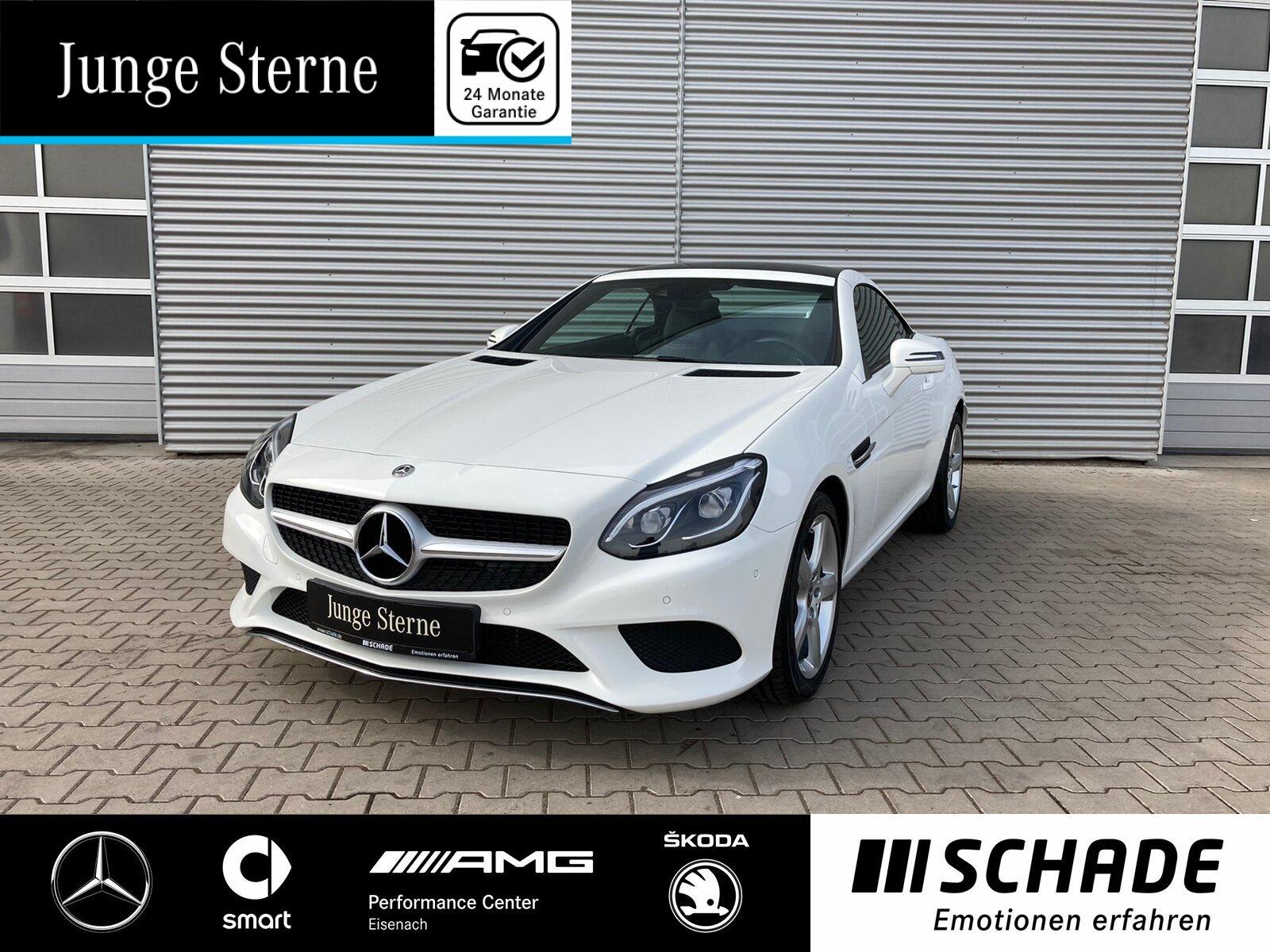 Mercedes-Benz SLC 200 Leder*LED*Pano.-Dach*Park-Assist.*Navi, Jahr 2019, Benzin
