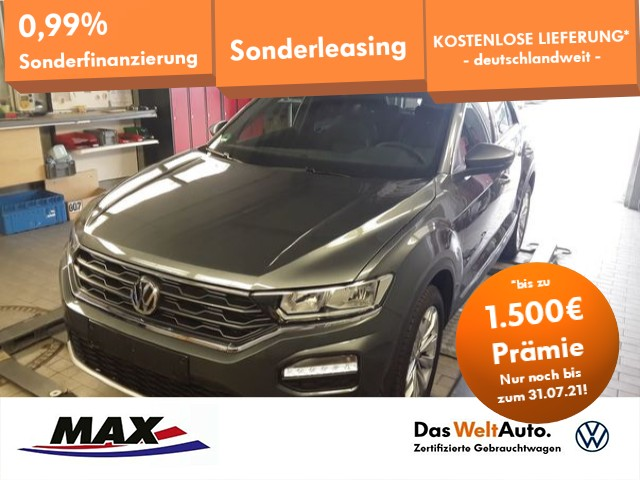 Volkswagen T-Roc 1.5 TSI SPORT NAV+ACC+ALU+PDC+FRONT ASSIST, Jahr 2020, Benzin