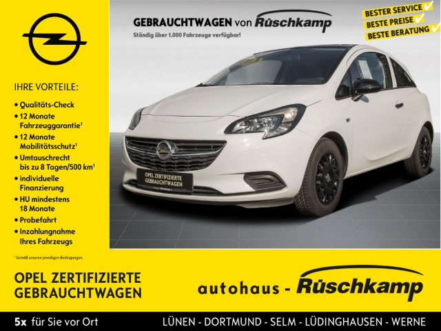 Opel Corsa E 1.2 Selection RDC Klima R Black Line Paket, Jahr 2016, Benzin